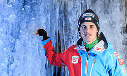 02.12.2015, Lillehammer, NOR, OESV, Nordische Kombinierer, Fotoshooting, im Bild Paul Gerstgraser (AUT) // Paul Gerstgraser of Austria during the Photoshooting of the Ski Austria Nordic Combined Team in Lillehammer on 2015/12/02 . EXPA Pictures © 2015, PhotoCredit: EXPA/ JFK