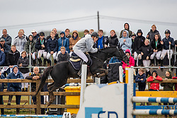 Winter Jans, BEL, Black Booster<br /> Nationaal Tornooi LRV Ponies<br /> Zonnebeke 2019<br /> © Hippo Foto - Dirk Caremans<br />  29/09/2019