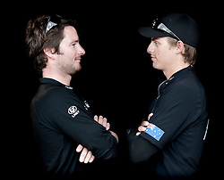 Minoprio and Mirsky ready to fight at the final of the Danish Open 2010, Bornholm, Denmark. World Match Racing Tour. photo: Loris von Siebenthal - WMRT