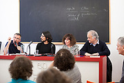 1ª Mesa: Democracia y Estado de derecho hoy<br /> <br /> -Ramón Sáez Valcárcel, Juez de la Audiencia Nacional<br /> <br /> -Bru Rovira, Reportero<br /> <br /> -Araceli Fuentes, Psicoanalista, miembro de la ELP* y AMP**. Inscripta en Zadig.<br /> <br /> Moderador: José Alberto Raymondi, Psicoanalista, miembro de la ELP y AMP. Inscripto en Zadig