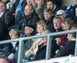 Hearts chairwoman Ann Budge<br /> Falkirk 0 v 3 Hearts, Scottish Championship game played 21/3/2015 at The Falkirk Stadium.