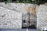 Israel, Haifa, The German Colony (established in Haifa in 1868 by the German Templers) The French Consulate