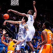 Bam Adebayo.<br /> <br /> The University of Kentucky men's basketball team beat Tennessee 83-58 on Tuesday, February 14, 2017, in Lexington's Rupp Arena.<br /> <br /> Photo by Elliott Hess   UK Athletics