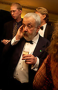 Mike Leigh. 25th  annual Awards of the London critic's Circle in aid of the NSPCC. The Dorchester. Park Lane. London. 9 February 2005. ONE TIME USE ONLY - DO NOT ARCHIVE  © Copyright Photograph by Dafydd Jones 66 Stockwell Park Rd. London SW9 0DA Tel 020 7733 0108 www.dafjones.com