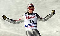 Val di Fiemme/Predazzo.2003-02-22/ Hopp stor bakke K120<br />Tommy Ingebrigtsen efter 1 hoppet<br />Foto, Calle Toernstroem