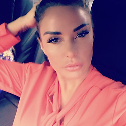 """Katie Price releases a photo on Instagram with the following caption: """"On way to Ascot with @jomantell traveling in style with @hr_carriages_mayfair \u2764\ufe0f\u2764\ufe0f"""". Photo Credit: Instagram *** No USA Distribution *** For Editorial Use Only *** Not to be Published in Books or Photo Books ***  Please note: Fees charged by the agency are for the agency's services only, and do not, nor are they intended to, convey to the user any ownership of Copyright or License in the material. The agency does not claim any ownership including but not limited to Copyright or License in the attached material. By publishing this material you expressly agree to indemnify and to hold the agency and its directors, shareholders and employees harmless from any loss, claims, damages, demands, expenses (including legal fees), or any causes of action or allegation against the agency arising out of or connected in any way with publication of the material."""