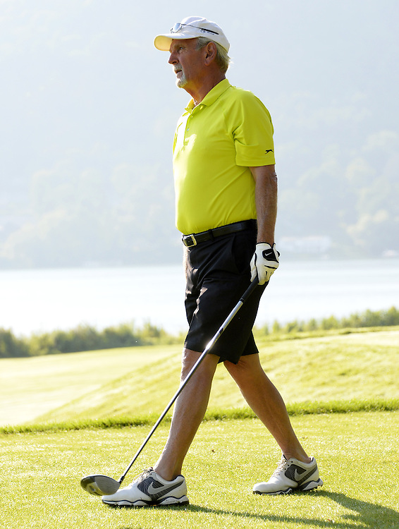 "COOPERSTOWN, NY - JULY 26: Jim Leyland participates in the annual ""Hall of Fame Golf Classic"" at the Leatherstocking Golf Club in Cooperstown, New York on July 26, 2014."