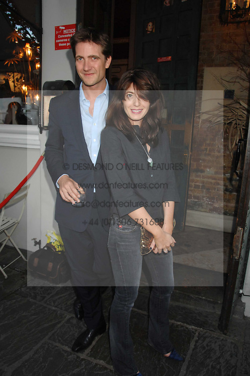 KRIS THYKIER and CLAUDIA WINKLEMAN at at the launch party for Imogen Edwards-Jones's new book Beach Babylon held at Beach Blanket Babylon, Ledbury Road, London on 18th July 2007.<br /><br />NON EXCLUSIVE - WORLD RIGHTS