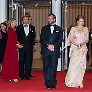 LUX/Luxemburg/20180524 - Staatsbezoek Luxemburg dag 2,  Erfgroothertog Guillaume  en Erfhertogin Stephanie