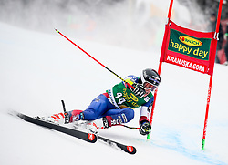 Hig Roberts of USA during 1st run of Men's GiantSlalom race of FIS Alpine Ski World Cup 57th Vitranc Cup 2018, on March 3, 2018 in Kranjska Gora, Slovenia. Photo by Ziga Zupan / Sportida