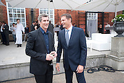 ZACH DUANE; PHIL POPHAM, Alexandra Shulman, Editor of Vogue & Phil Popham, Managing Director of Land Rover<br /> host the 40th Anniversary of Range Rover. The Orangery at Kensington Palace. London. 1 July 2010. -DO NOT ARCHIVE-© Copyright Photograph by Dafydd Jones. 248 Clapham Rd. London SW9 0PZ. Tel 0207 820 0771. www.dafjones.com.
