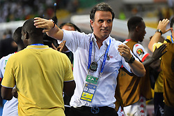 Burkina 's coach Jorge Rebelo Duarte during the 2017 Africa Cup of Nations (CAN) quart de finale match Burkina Faso vs Tunisie held at Stade de l'Amitie in Libreville, Gabon on January 28, 2017. Photo by Christian Liewig/ABACAPRESS.COM