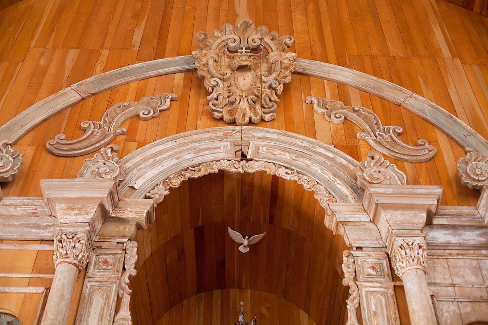 Pirenopolis_GO, Brasil...Interior da Igreja de Nossa Senhora do Rosario em Pirenopolis, Goias...Image of Interior of Nossa Senhora do Rosario Church in Pirenopolis, Goias...Foto: JOAO MARCOS ROSA / NITRO