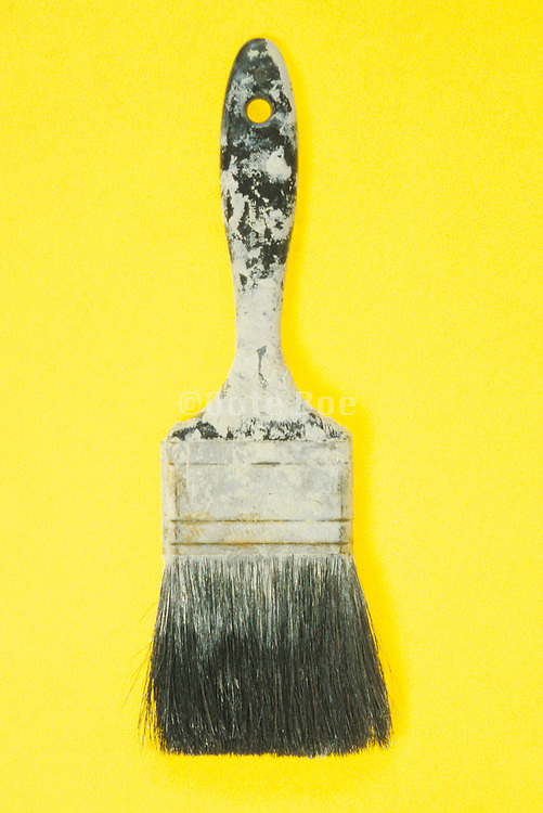 a well used house painting brush