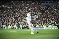 November 26, 2019, Madrid, Madrid, Spain: Gareth Bale (midfielder; Real Madrid) in action during the UEFA Champions League match between Real Madrid and Paris Saint-Germain at Santiago Bernabeu Stadium on November 26, 2019 in Madrid, Spain (Credit Image: © Jack Abuin/ZUMA Wire)
