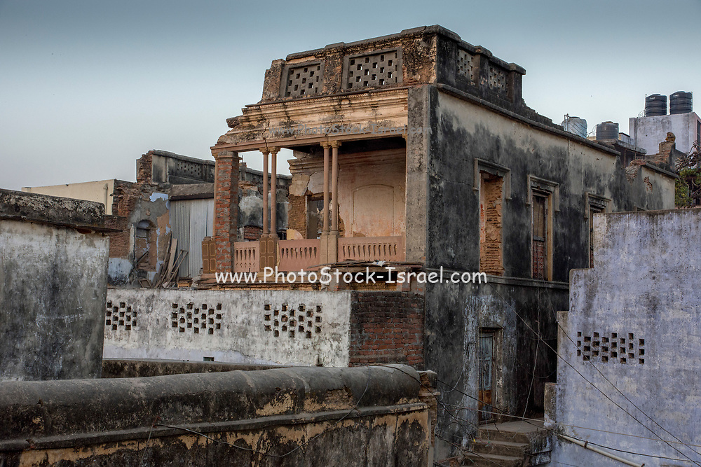 Cityscape of Varanasi Uttar Pradesh, India