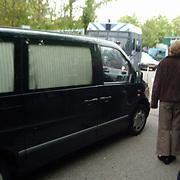 Moord Pim Fortuyn Hilversum, politie lijkauto