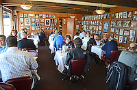 Interior, Soma's Restaurant, Fisherman's Wharf, San Francisco, California, USA, 201304131274<br /> <br /> Copyright Image from Victor Patterson, 54 Dorchester Park, Belfast, UK, BT9 6RJ<br /> <br /> Tel: +44 28 9066 1296<br /> Mob: +44 7802 353836<br /> Voicemail +44 20 8816 7153<br /> Skype: victorpattersonbelfast<br /> Email: victorpatterson@me.com<br /> Email: victorpatterson@ireland.com (back-up)<br /> <br /> IMPORTANT: If you wish to use this image or any other of my images please go to www.victorpatterson.com and click on the Terms & Conditions. Then contact me by email or phone with the reference number(s) of the image(s) concerned.