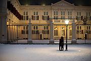 Winter scenery Paleis Noordeinde