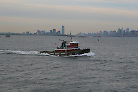 View of Manhattan from the water