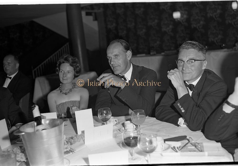 20/08/1962<br /> 08/20/1962<br /> 20 August 1962 <br /> Efficient Distribution Ltd. Dinner at Shelbourne Hotel, Dublin. Image shows Mr J. Sutton.