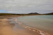 Beach on Floreana Island, part of the Galapagos Archipelago.