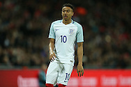 Jesse Lingard of England looking on. England v Spain, Football international friendly at Wembley Stadium in London on Tuesday 15th November 2016.<br /> pic by John Patrick Fletcher, Andrew Orchard sports photography.
