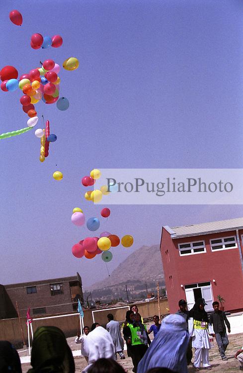 SPECIAL OLYMPICS AFGHANISTAN..KABUL 24 August 2005..Bagh-e-Zanana