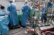 Nederland, Nijmegen, 15-5-2006Hartoperatie in het UMC-Radboud ziekenhuis.Foto: Flip Franssen