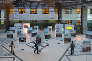 Rome, Italy. Exhibit of What I Eat: Around the World in 80 Diets at the headquarters of the Food and Agriculture Organization of the United Nations.
