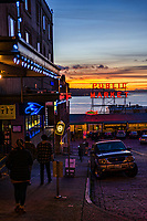 Pine Street near Post Alley & Pike Place Market