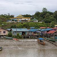 Scene taken from the boat jetty before leaving for Bako National Park.