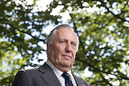 Acclaimed bestselling British author and political commentator Frederick Forsyth, pictured at the Edinburgh International Book Festival where he talked about his career. The three-week event is the world's biggest literary festival and is held during the annual Edinburgh Festival. The 2010 event featured talks and presentations by more than 500 authors from around the world.