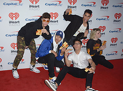 September 23, 2017 - Las Vegas, Nevada, United States of America - Boy Band PRETTYMUCH  attend the  2017 iHeart Radio Music Festival Day 1 on  September22, 2017  at the T-Mobile Arena in Las Vegas, Nevada (Credit Image: © Marcel Thomas via ZUMA Wire)
