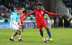 Daniel Sturridge of England runs with the ball - Mandatory by-line: Robbie Stephenson/JMP - 11/10/2016 - FOOTBALL - RSC Stozice - Ljubljana, England - Slovenia v England - World Cup European Qualifier