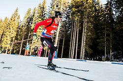 Brendan Green (CAN) during Men 12,5 km Pursuit at day 3 of IBU Biathlon World Cup 2015/16 Pokljuka, on December 19, 2015 in Rudno polje, Pokljuka, Slovenia. Photo by Vid Ponikvar / Sportida
