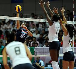 28-08-2010 VOLLEYBAL: WGP FINAL BRAZIL - ITALY: BEILUN NINGBO<br /> Brazil crush Italy in straight sets / Lucia Bosetti<br /> ©2010-WWW.FOTOHOOGENDOORN.NL