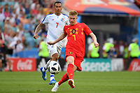 Kevin DE BRUYNE (BEL) am Ball, Aktion,Zweikampf gegen Blas PEREZ (PAN), Belgien (BEL) - Panama (PAN) 3-0, Vorrunde, Gruppe G, Spiel 13, am 18.06.2018 in SOTSCHI,Fisht Olymipic Stadium. Fussball Weltmeisterschaft 2018 in Russland vom 14.06. - 15.07.2018. *** Kevin DE BRUYNE BEL on the ball Action Fight against Blas PEREZ PAN Belgium BEL Panama PAN 3 0 Preliminary Group G Match 13 on 18 06 2018 in SOCHI Fisht Olymipic Stadium Football World Cup 2018 in Russia from 14 06 15 07 2018