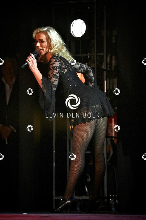 GORINCHEM - Feestavond voor Ruud de Graaf. Op de foto Ellen Evers. FOTO LEVIN DEN BOER - PERSFOTO.NU