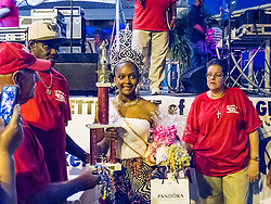 Miss Carenage, Takia Joseph.  Father's Day Weekend Celebration in Frenchtown.  St. Thomas, VI.  21 February 2015.  © Aisha-Zakiya Boyd