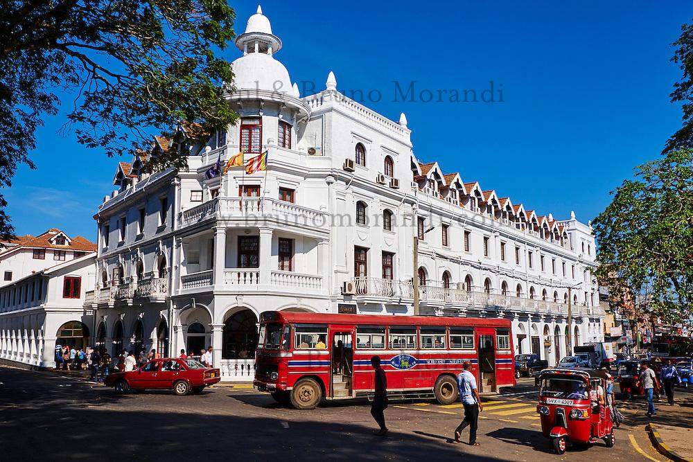 Sri Lanka, province du centre, Kandy, ville classée patrimoine mondial de l'UNESCO, architecture colonial // Sri Lanka, Ceylon, North Central Province, Kandy, UNESCO World Heritage city, colonial architecture