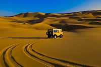 Land Rover desert vehicle (Tommy's Tours & Safaris), Swakopmund Dunes, Swakopmund, Namib Desert, Namibia