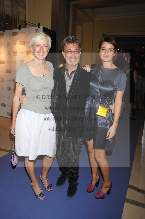 Left to right, EDDIE & MARIE JORDAN and their daughter ZOE JORDAN at the 10th Anniversary Party of the Lavender Trust, Breast Cancer charity held at Claridge's, Brook Street, London on 1st May 2008.<br /><br />NON EXCLUSIVE - WORLD RIGHTS
