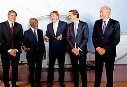 König Willem Alexander beim Global Minds Symposium in Rotterdam / 051016<br /> ***Global Minds symposium in Rotterdam, The Netherlands, Oct. 5th, 2016.***