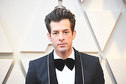 February 24, 2019 - Los Angeles, California, U.S - MARK RONSON during red carpet arrivals for the 91st Academy Awards, presented by the Academy of Motion Picture Arts and Sciences (AMPAS), at the Dolby Theatre in Hollywood. (Credit Image: © Kevin Sullivan via ZUMA Wire)