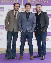 Scouting for Girls attending the annual WellChild Awards at The Dorchester Hotel, London.