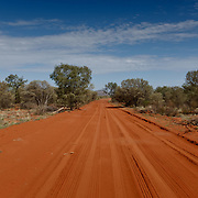 Sand track for 4WD in Northern Territory.
