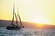 Sailing, Maui, Hawaii, USA<br />
