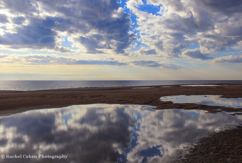 """""""Reflecting Pool""""<br /> <br /> Wonderful reflections in pools along the shores of Lake Michigan!!<br /> <br /> The Great Lakes by Rachel Cohen"""