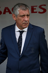June 3, 2017 - Lisbon, Portugal - Portugal's head coach Fernando Santos looks on during the friendly football match Portugal vs Cyprus at Antonio Coimbra da Mota Stadium in Estoril, outskirts of Lisbon, Portugal on June 3, 2017. (Credit Image: © Pedro Fiuza/NurPhoto via ZUMA Press)
